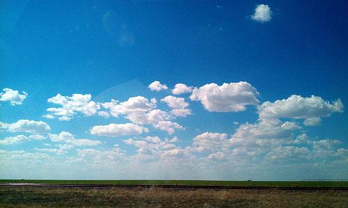 the beautiful Kansas sky