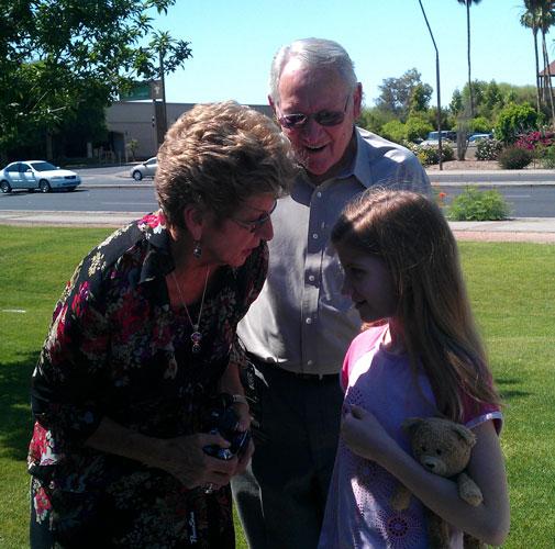 Eunice, Bill and Fiona