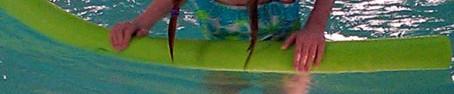 Fiona swimming