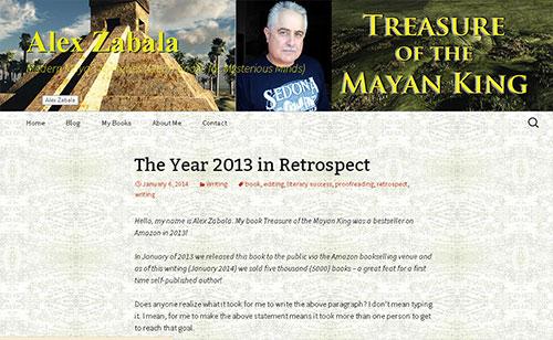Alex Zabala's website